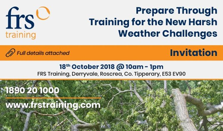 Event Invitation to Prepare for Harsh Weather Challenges