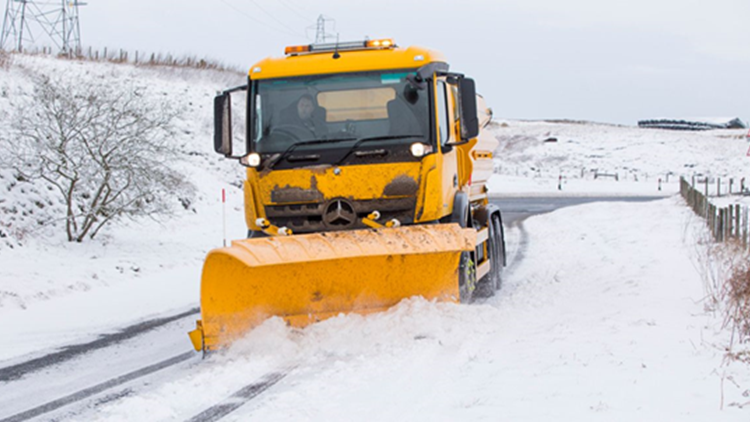 Winter Maintenance Operations Course - Gritter & Plough