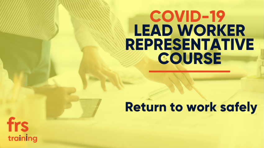 COVID Lead Worker Representative